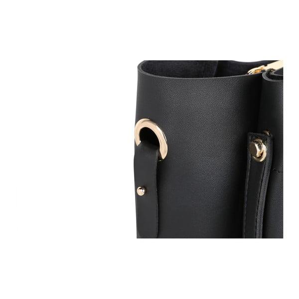 Geantă din piele ecologică Beverly Hills Polo Club Amy, negru