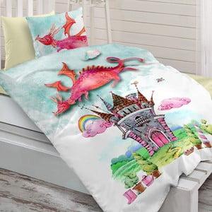Sada ložního prádla ze 100 % ranforce bavlny Charlot Dragon
