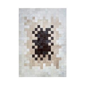 Covor din piele naturală Pipsa Degradada, 200 x 70 cm, bej