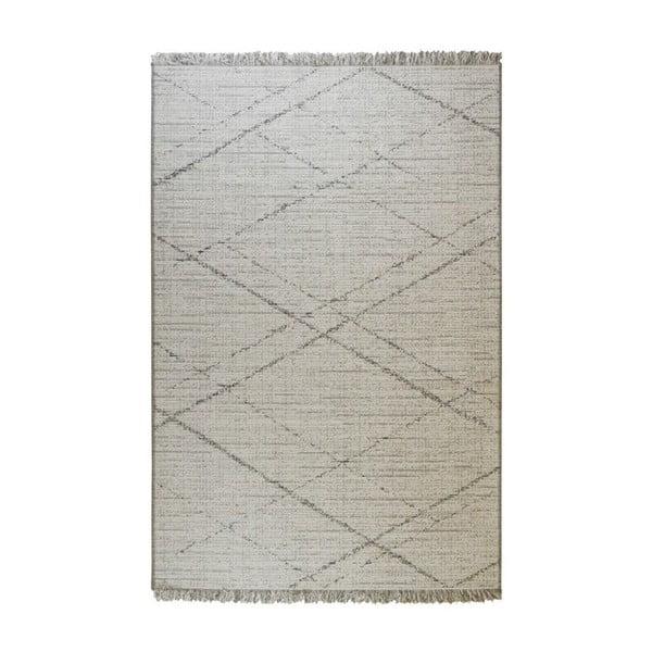 Béžovo-šedý venkovní koberec Floorita Gipsy, 194 x 290 cm