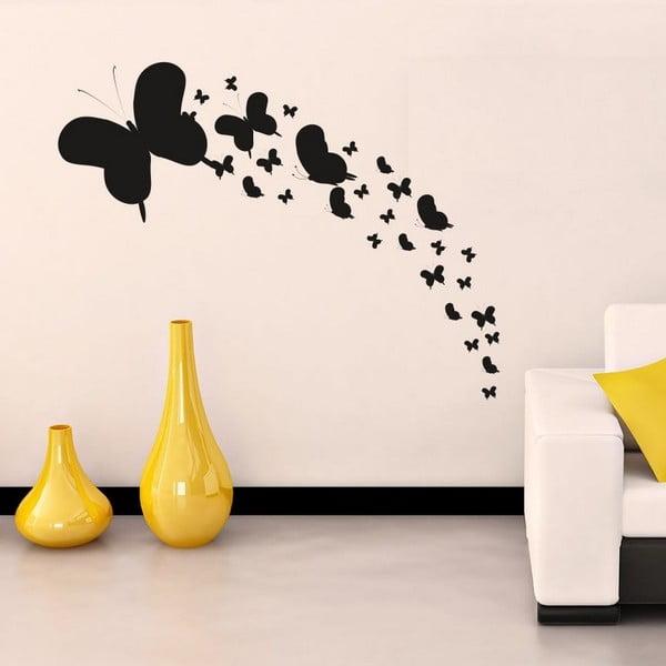 Dekorativní nálepka na stěnu Simple Butterflies