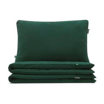 Lenjerie de pat Mumla, 90 x 120 cm, verde închis imagine