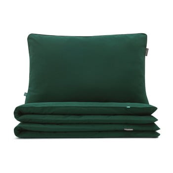 Lenjerie de pat Mumla, 200 x 220 cm, verde închis de la Mumla