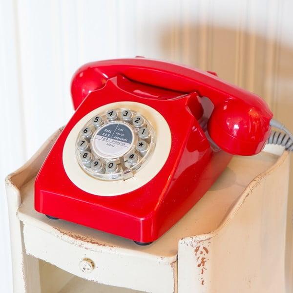 Retro funkční telefon Serie 746 Blue