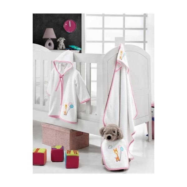 Dětský koupací set Žirafka s balónky