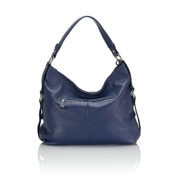 Kožená kabelka Giorgio Costa 15026 Blue