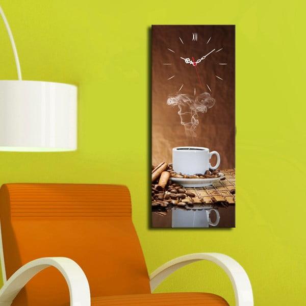 Obrazové hodiny Káva