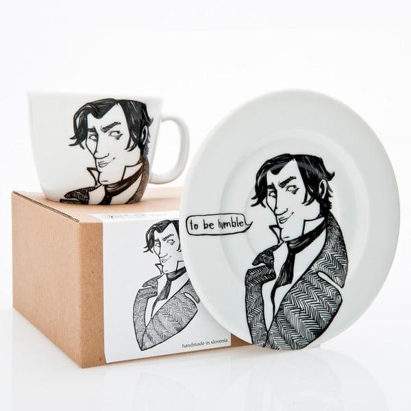 Hrnek a talířek Darcy, naprostý snílek
