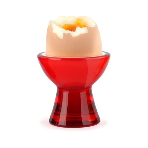 Červený kalíšek na vejce Vialli Design