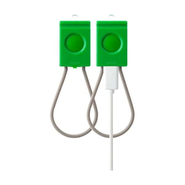Zelená USB blikačka Bookman