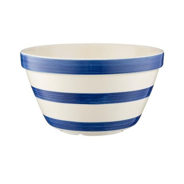 Bol din ceramică pentru budincă Mason Cash Basin, ⌀ 22 cm, albastru - alb