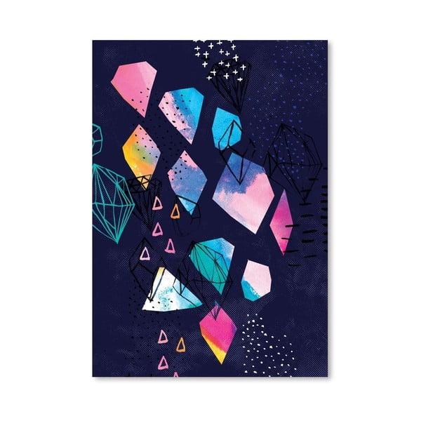 Plakát Shine Bright No.2, 30x42 cm