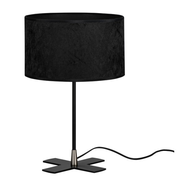 Czarna lampa stołowa Bulb Attack Quince
