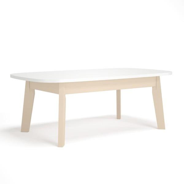 Biely konferenčný stolík Artemob Naiss