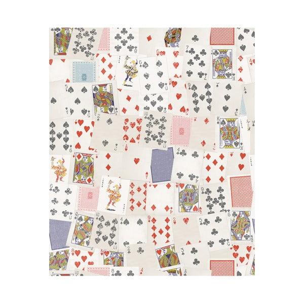 Role tapety Hrací karty, 53x1005 cm