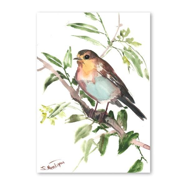 Autorský plakát Bird od Surena Nersisyana, 30x21cm