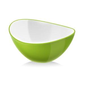 Zelená salátová mísa Vialli Design, 16cm
