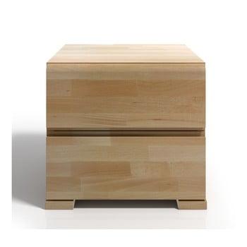 Noptieră din lemn de fag cu 2 sertare SKANDICA Vestre imagine