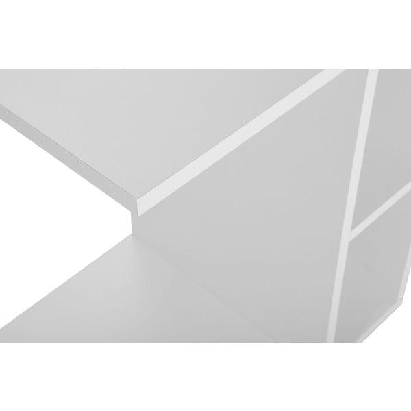 Multifunkční konferenční stolek Papatya White
