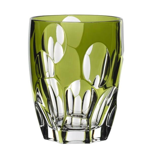 Zelená sklenice z křišťálového skla Nachtmann Prezioso Verde, 300 ml