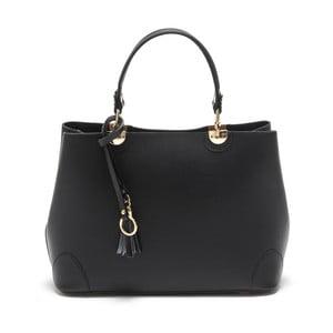 Černá kožená kabelka Isabella Rhea no. 462