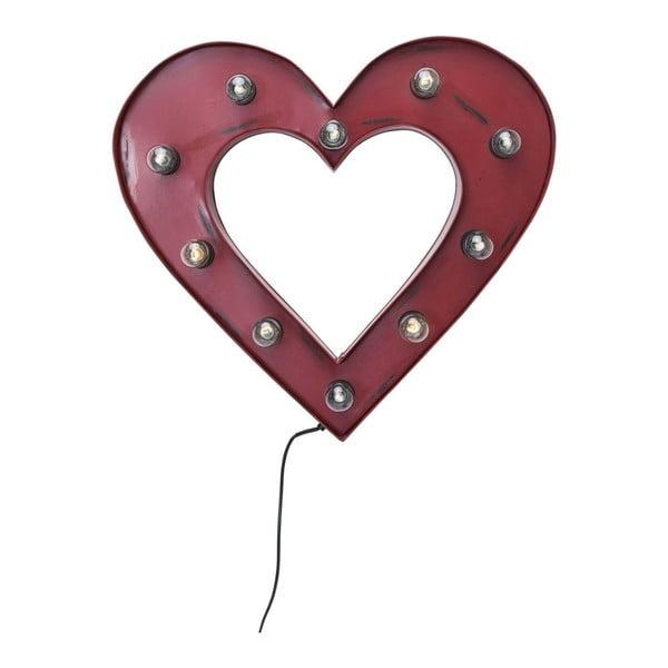 Nástěnná svítící dekorace Kare Design Heart