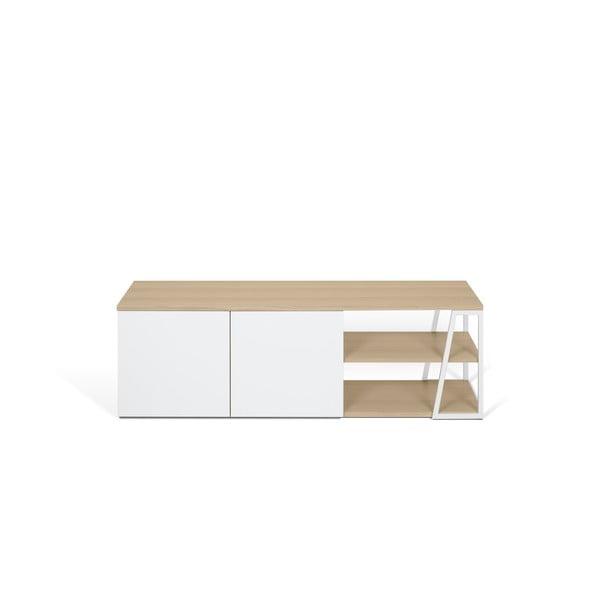 Biały stolik pod TV TemaHome Albi