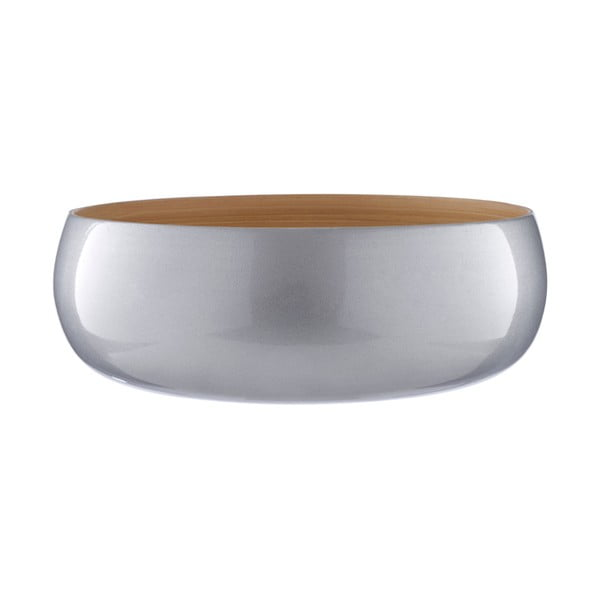Bol servire din bambus Premier Housewares, ⌀ 30 cm, gri