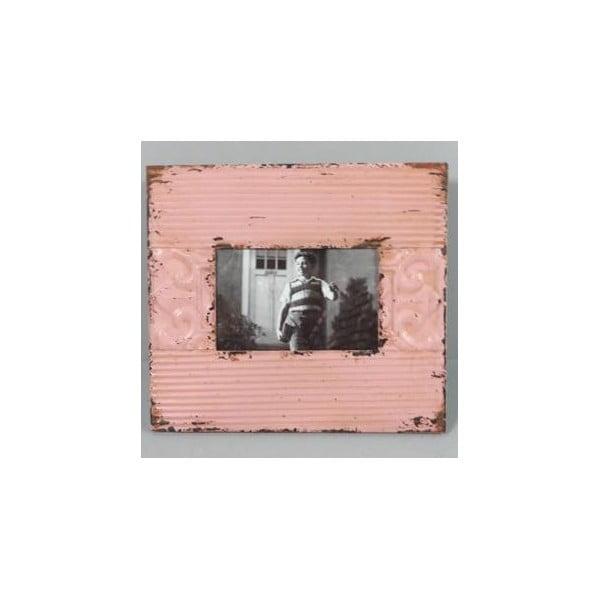 Fotorám Pink Vintage 25x23 cm