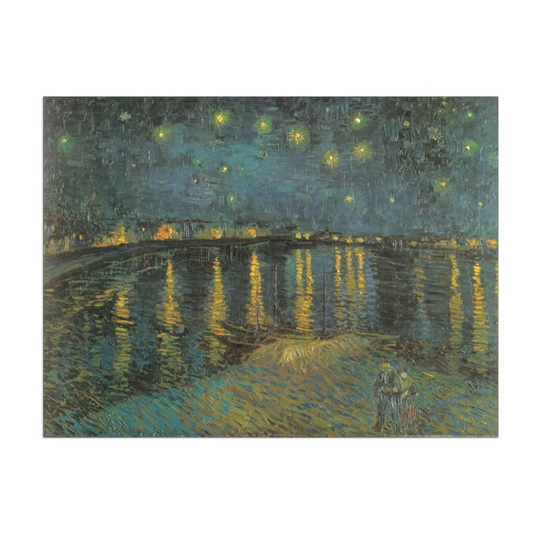 Obraz Van Gogh - Starry Night, 80x60 cm