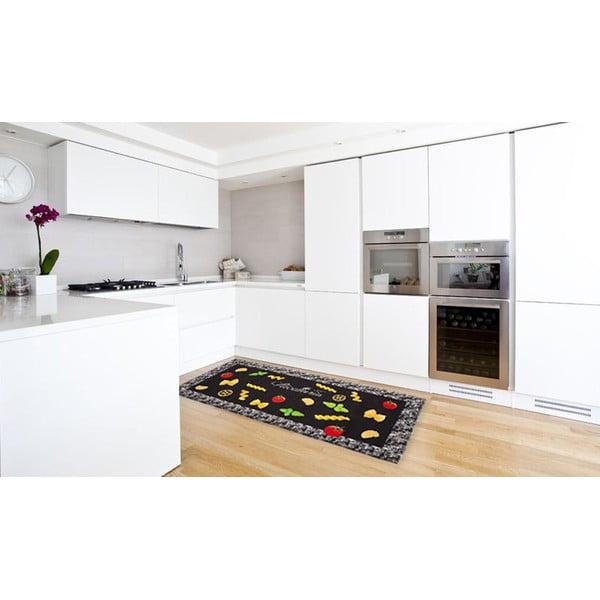 Vysoce odolný kuchyňský koberec Webtappeti Pastabook,60x110cm