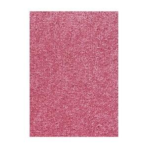 Růžový koberec Hanse Home Nasty, 200 x 200 cm