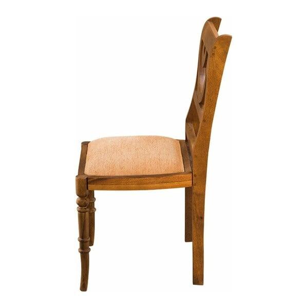Sada 2 jídelních židlí z mangového dřeva Støraa Pomona