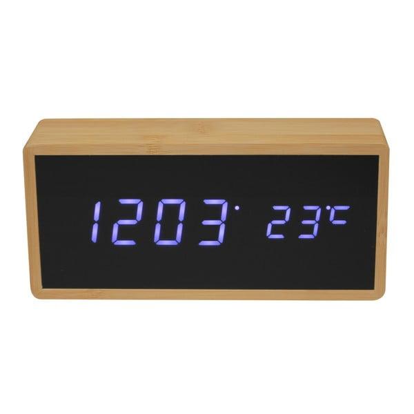 Ceas deșteptător din bambus cu LED-uri Le Studio Reveil