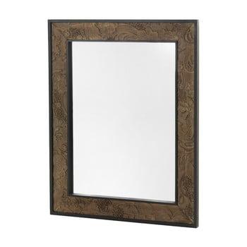 Oglindă de perete cu rama din lemn Geese Fionne, 100x80cm de la Geese
