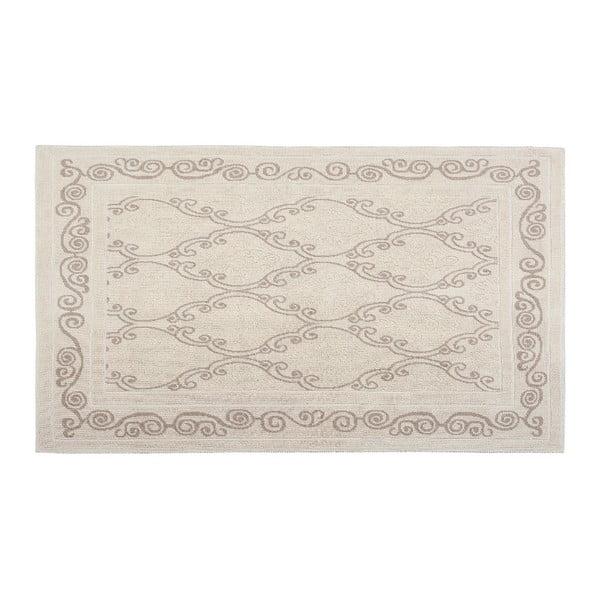 Bavlněný koberec Gina 120x180 cm, krémový