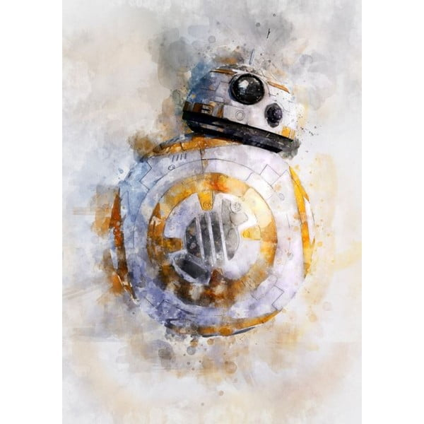 Poster Blue-Shaker Star Wars 39, 30 x 40 cm