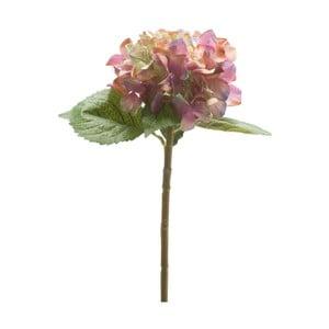 Umělá fialová hortenzie, 53 cm