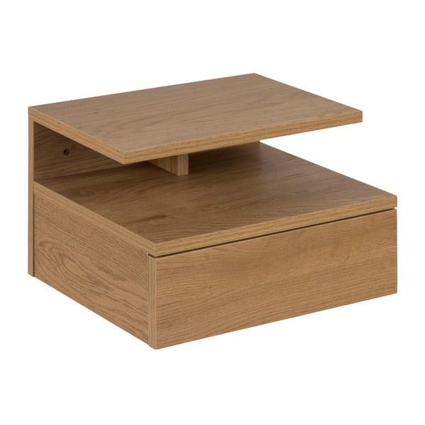 Noční stolek v dekoru dřeva Actona Aslan