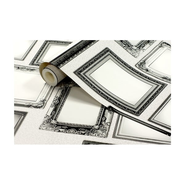 Role tapety Rámečky, 53x1005 cm