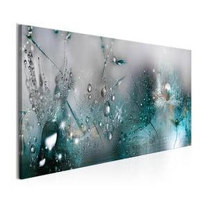 Obraz na plátně Artgeist Blue Sonata, 120x40cm