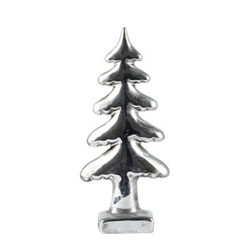 Decorațiune KJ Collection Tree Silver, 18 cm