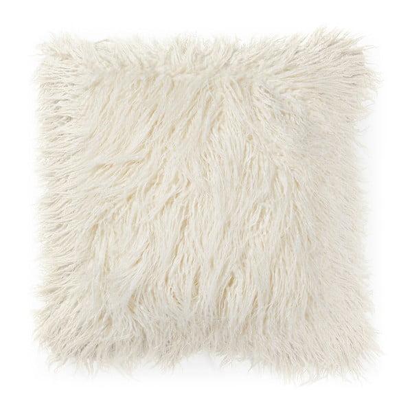 Bílý polštář La Forma Brock, 45x45cm