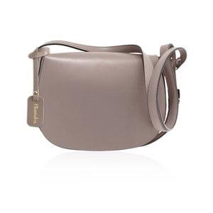 Béžová kožená kabelka Maison Bag Dallas