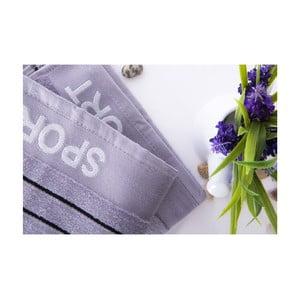Set dvou ručníků Sport Gray, 50x90 cm
