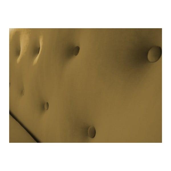 Dvoumístná pohovka ve zlaté barvě Mazzini Sofas Amelie
