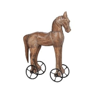 Dekorace Horse On Wheel