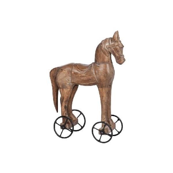 Dekorace Horse On Wheel