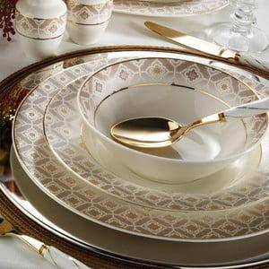 28dílná sada nádobí z porcelánu Kutahya Lola