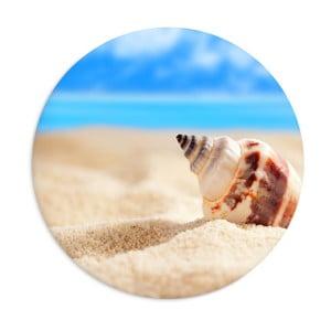 Keramický talíř Beach, ⌀25cm